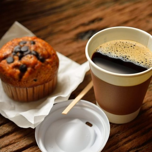 Hot Beverages and healthy snacks